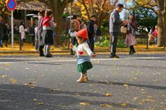 秋のファッションショー