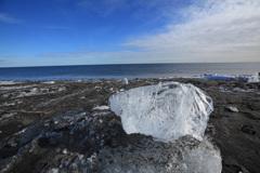 真冬の海岸