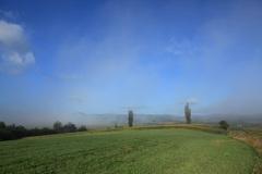 霧がはれて