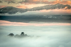 雲海に浮かぶ天空の城