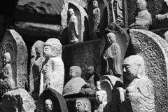 壬生寺の石仏たち
