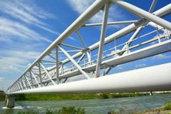 宇治川水管橋