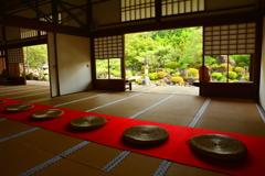 妙満寺・雪の庭6