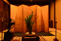 船鉾の屏風祭 長江家住宅