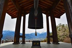 霊松寺・鐘楼からの展望