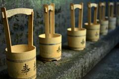 白雲神社の水桶4