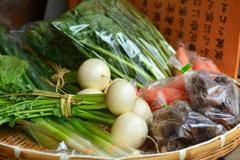 神社のお野菜2