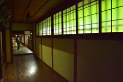 龍潭寺・方丈廊下