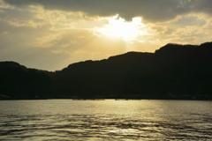 伊根湾の朝2
