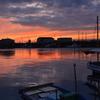 垂水漁港の朝