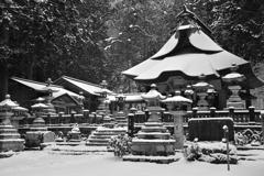 仏崎山観音寺の冬2