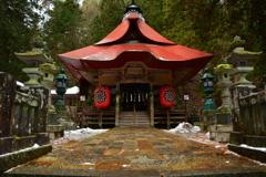 仏崎山観音寺の正月1