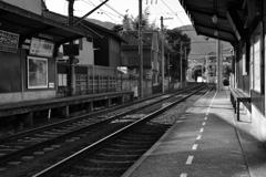 嵐電・鹿王院駅2