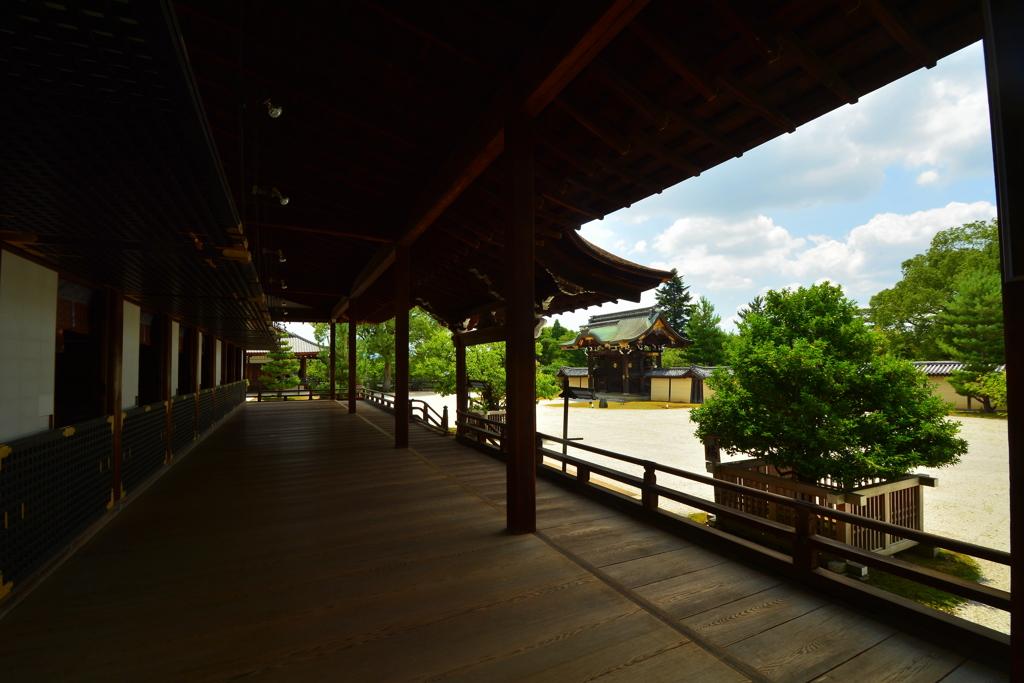 大覚寺・宸殿廊下