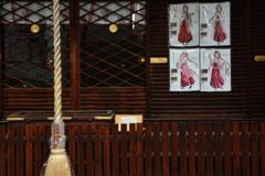 京都大神宮の萌え巫女さん