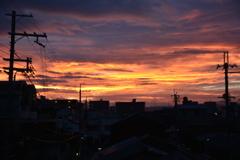 初秋の夜明け1