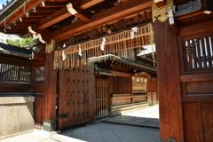 京都ゑびす神社・西門