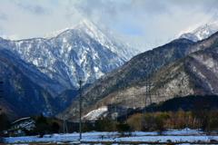 雪国の田園散策