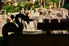 六角堂・龍と十六羅漢