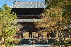 南禅寺三門の冬