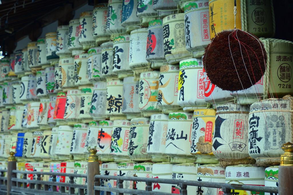 松尾大社・神輿庫界隈2