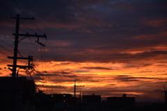 初秋の夜明け2