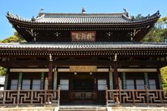 萬福寺・開山堂2