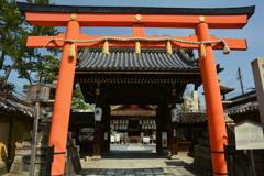 下御靈神社・正門