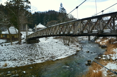 大出の吊橋・暖冬