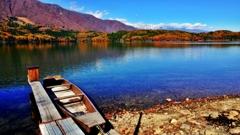 紅葉巡り(青木湖*)