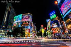 渋谷のきらめき