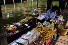 タイ王国 水上マーケット16