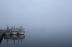 白霧の風景Ⅱ