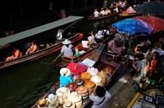 タイ王国 水上マーケット18