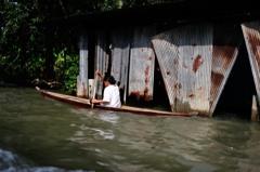タイ王国 水上マーケットⅦ