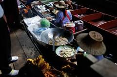タイ王国 水上マーケット20
