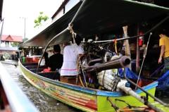 タイ王国 水上マーケットⅨ