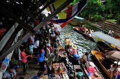 タイ王国 水上マーケット19
