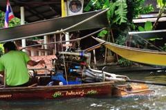 タイ王国 水上マーケット15