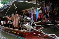 タイ王国 水上マーケットⅩ