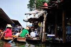 タイ王国 水上マーケット13