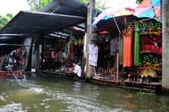 タイ王国 水上マーケット11