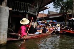タイ王国 水上マーケット12