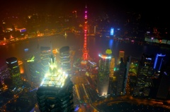 Shanghai City Night.