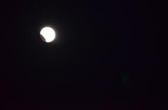 皆既月食!