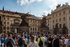 プラハ城正門