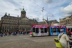 ダム広場とアムステルダム王宮
