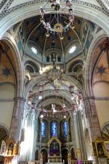 聖エリザベス教会 美しきシャンデリア@ボン