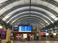 ドレスデン中央駅中央ホーム