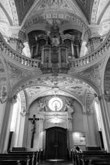 """BW見上げる世界 """"白"""" 聖アンドレアス教会2@デュッセルドルフ"""